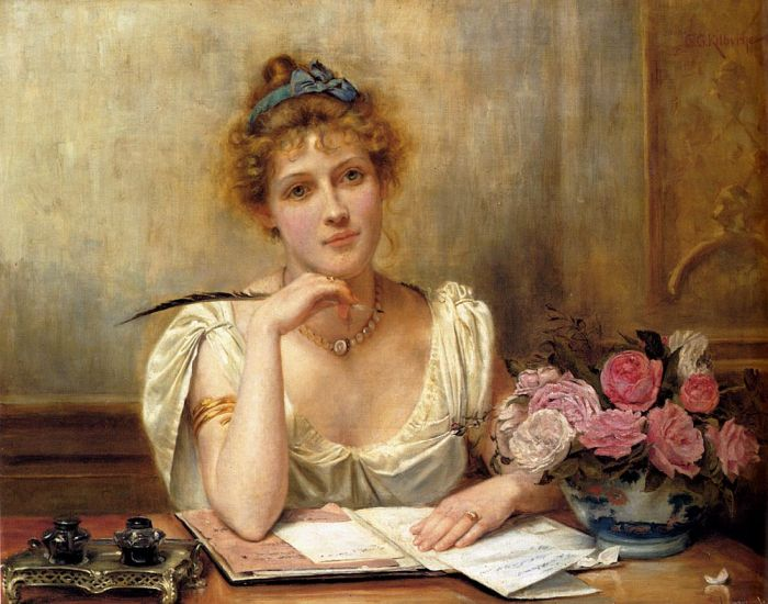 penning-a-letter-by-george-goodwin-kilburne